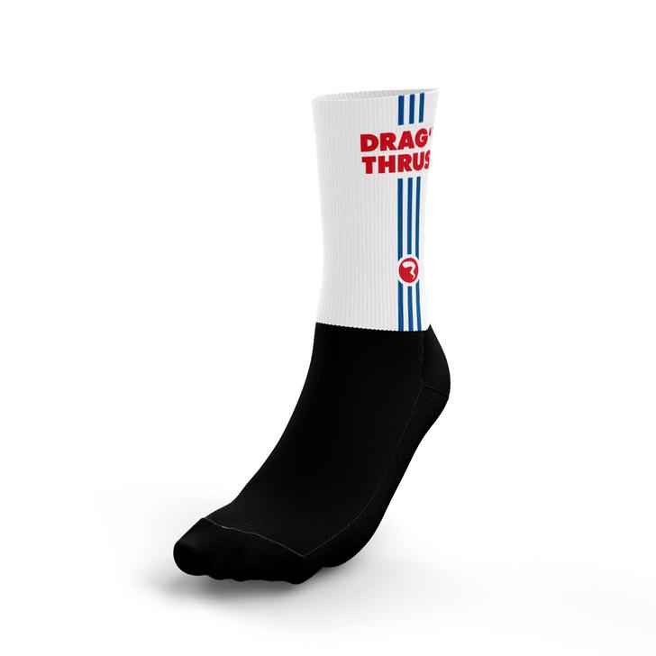 Drag'n White Socks