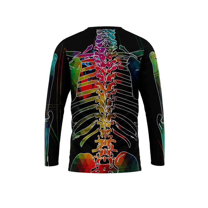 Black Skeleton Long Sleeve*