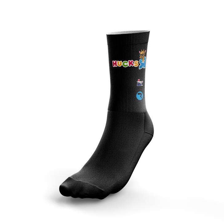 Hucks R Us Dark Socks