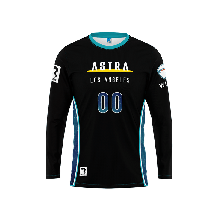 Los Angeles Dark Long Sleeve Jersey