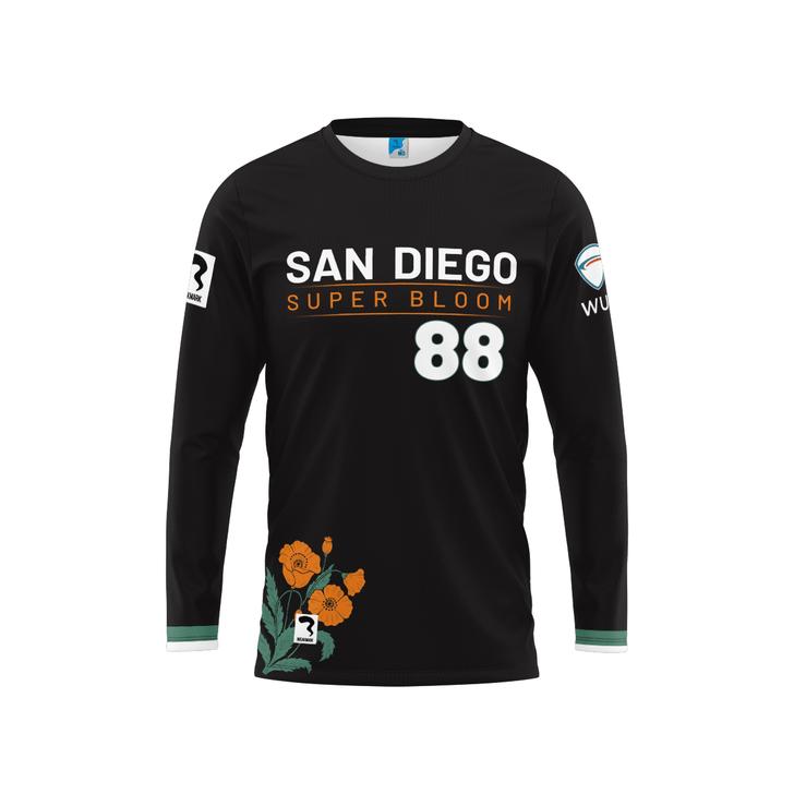 San Diego Dark Long Sleeve Jersey
