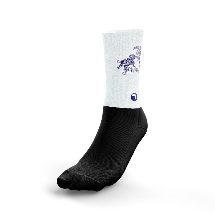 Elephantitis White Socks