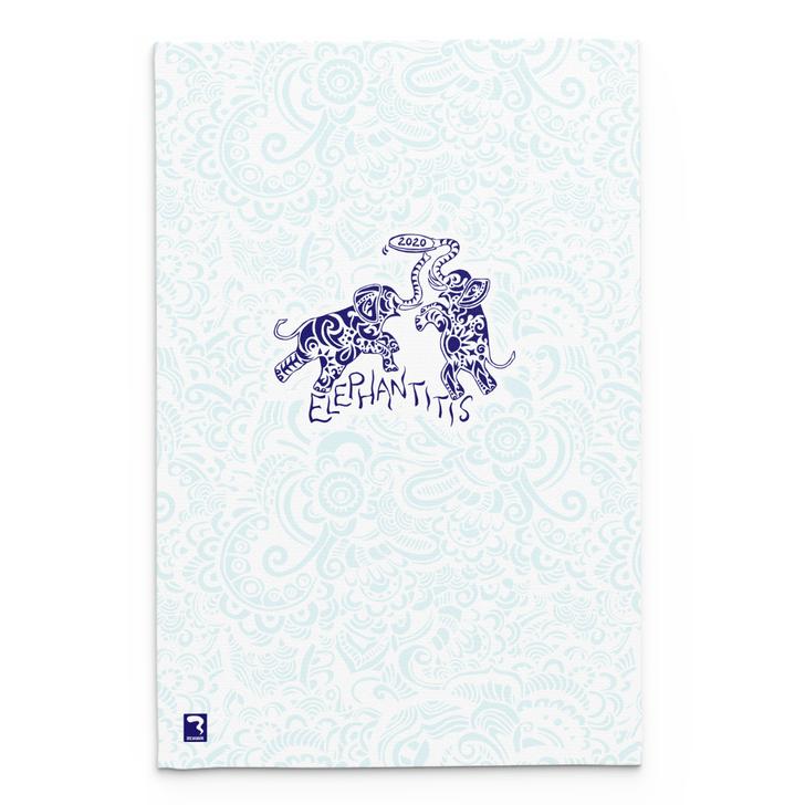 Elephantitis White Blanket