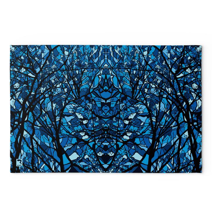 Pods Blue Blanket