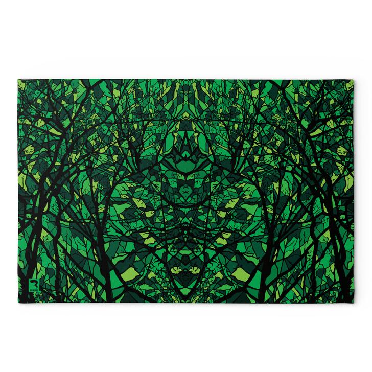 Pods Green Blanket