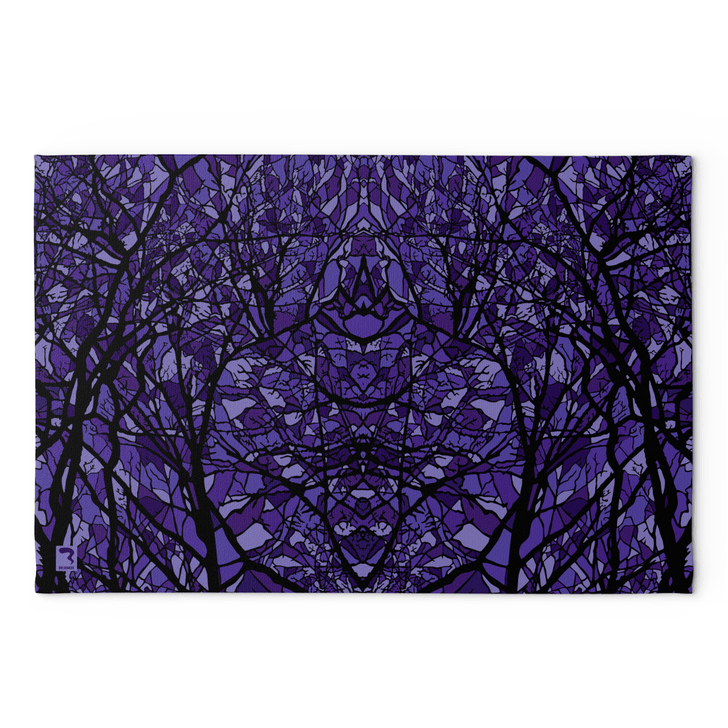 Pods Purple Blanket