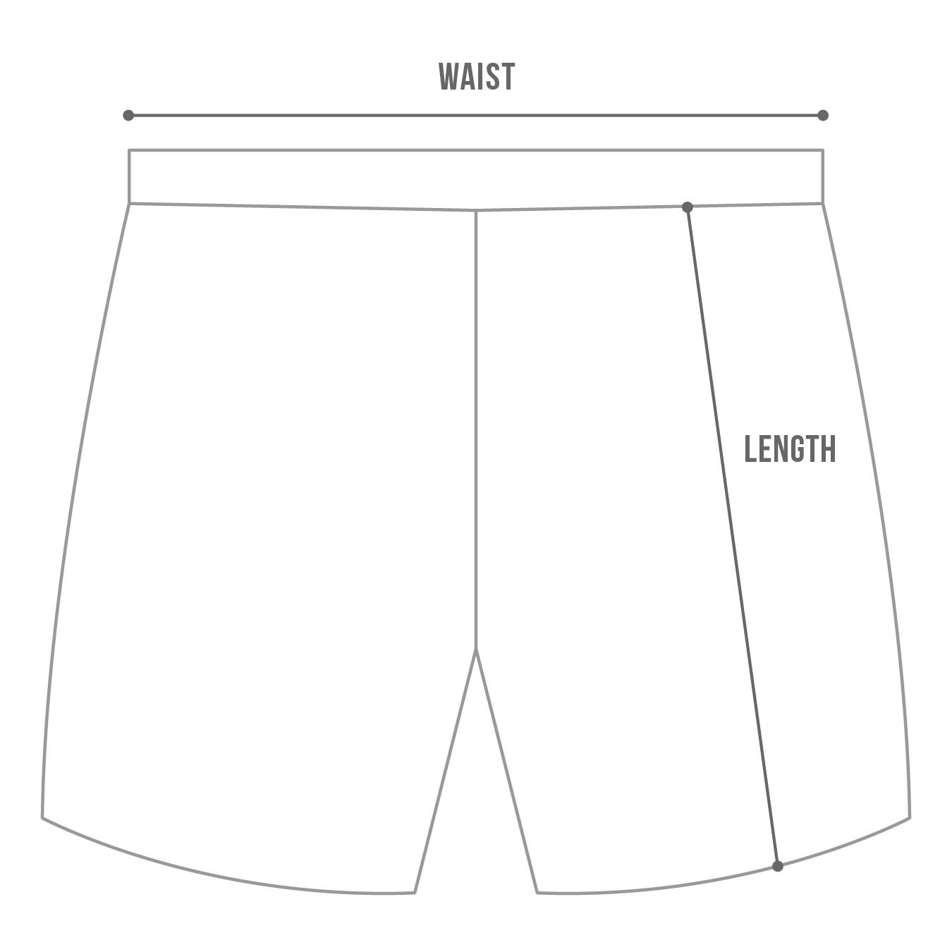 Breakmark Shorts Chart