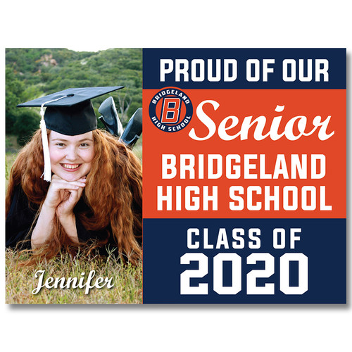 Bridgeland High School Custom Graduation Yard Sign