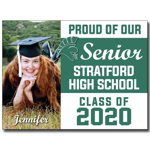 Stratford High School Custom Graduation Yard Sign
