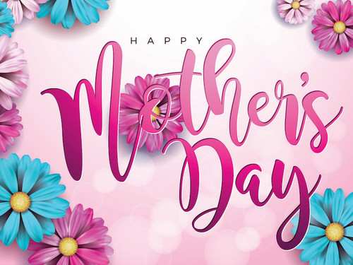 Mother's Day Yard Sign - Pink Floral