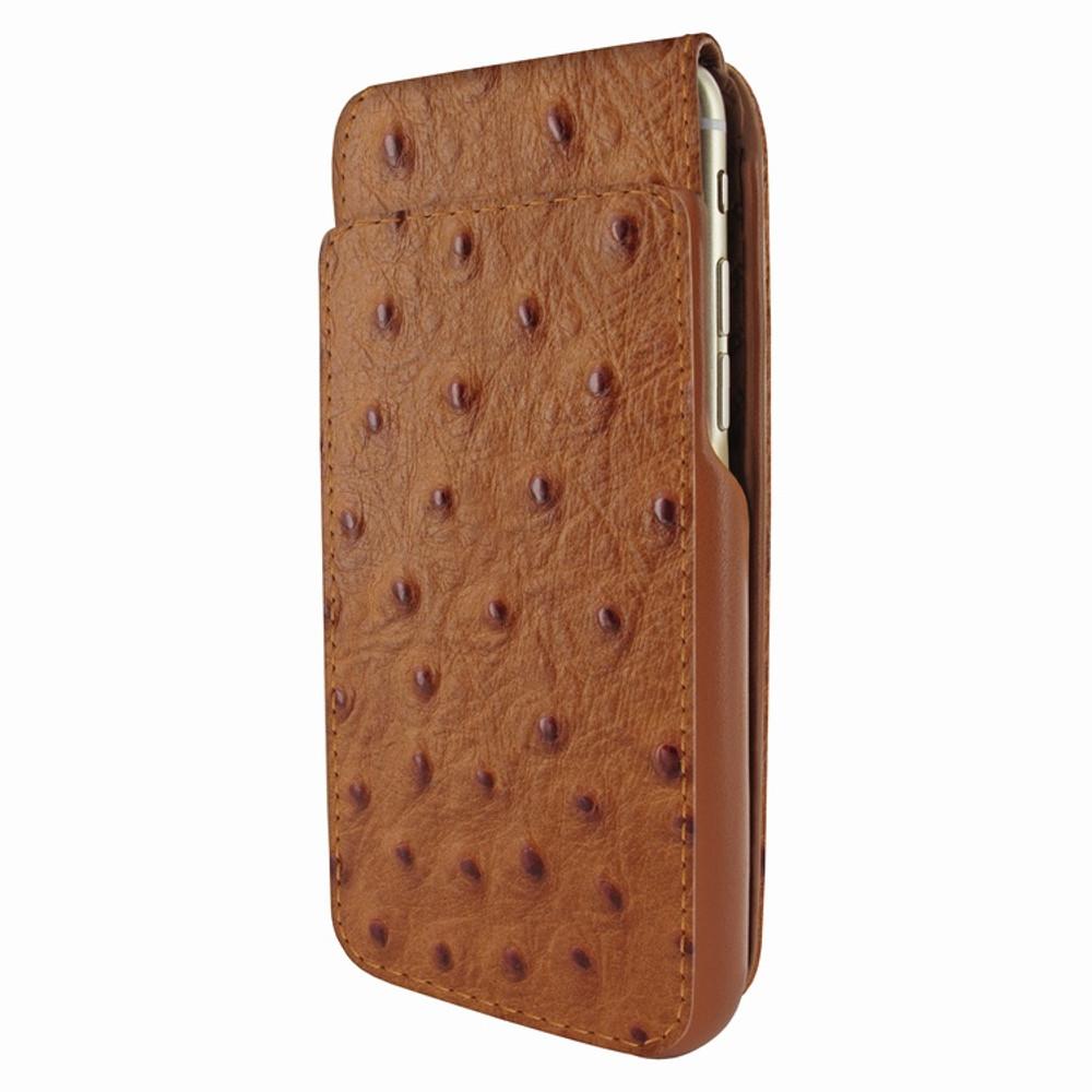 Piel Frama iPhone 6 / 6S / 7 / 8 UltraSliMagnum Leather Case - Tan Cowskin-Ostrich