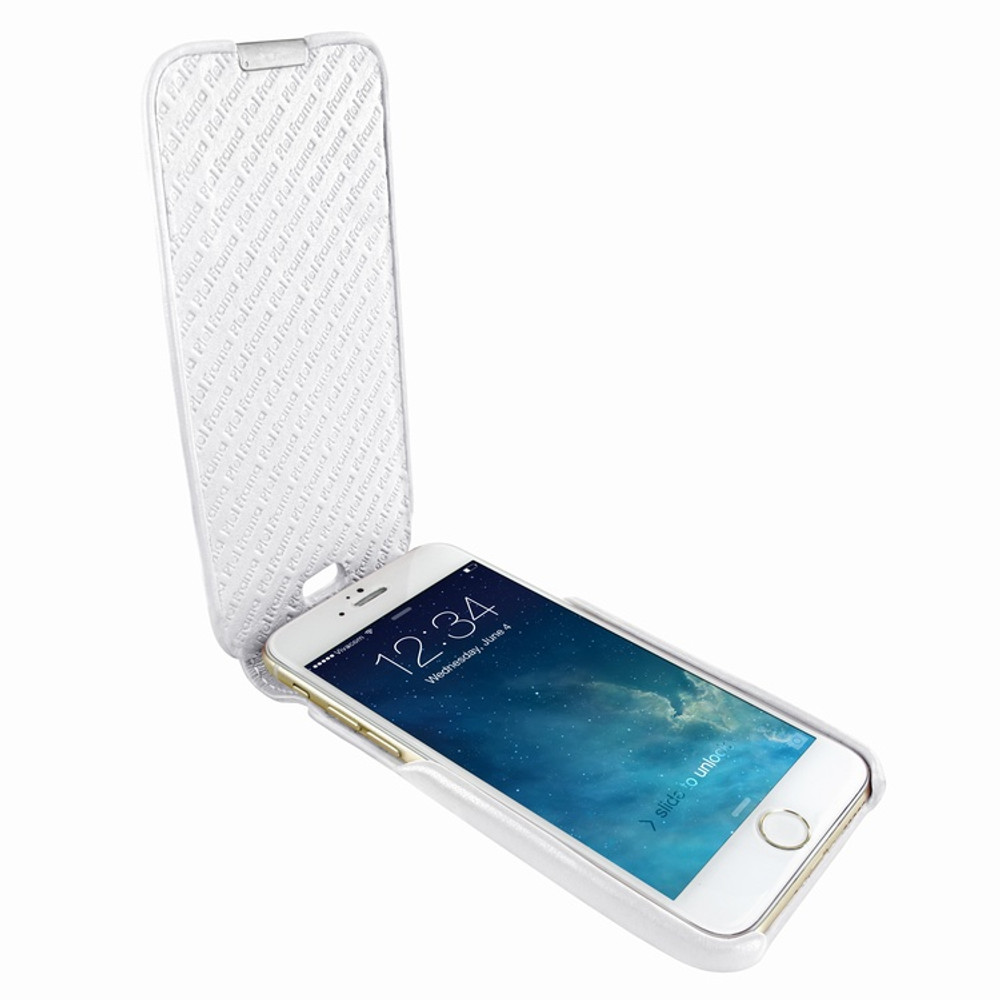 Piel Frama iPhone 6 / 6S / 7 / 8 UltraSliMagnum Leather Case - White