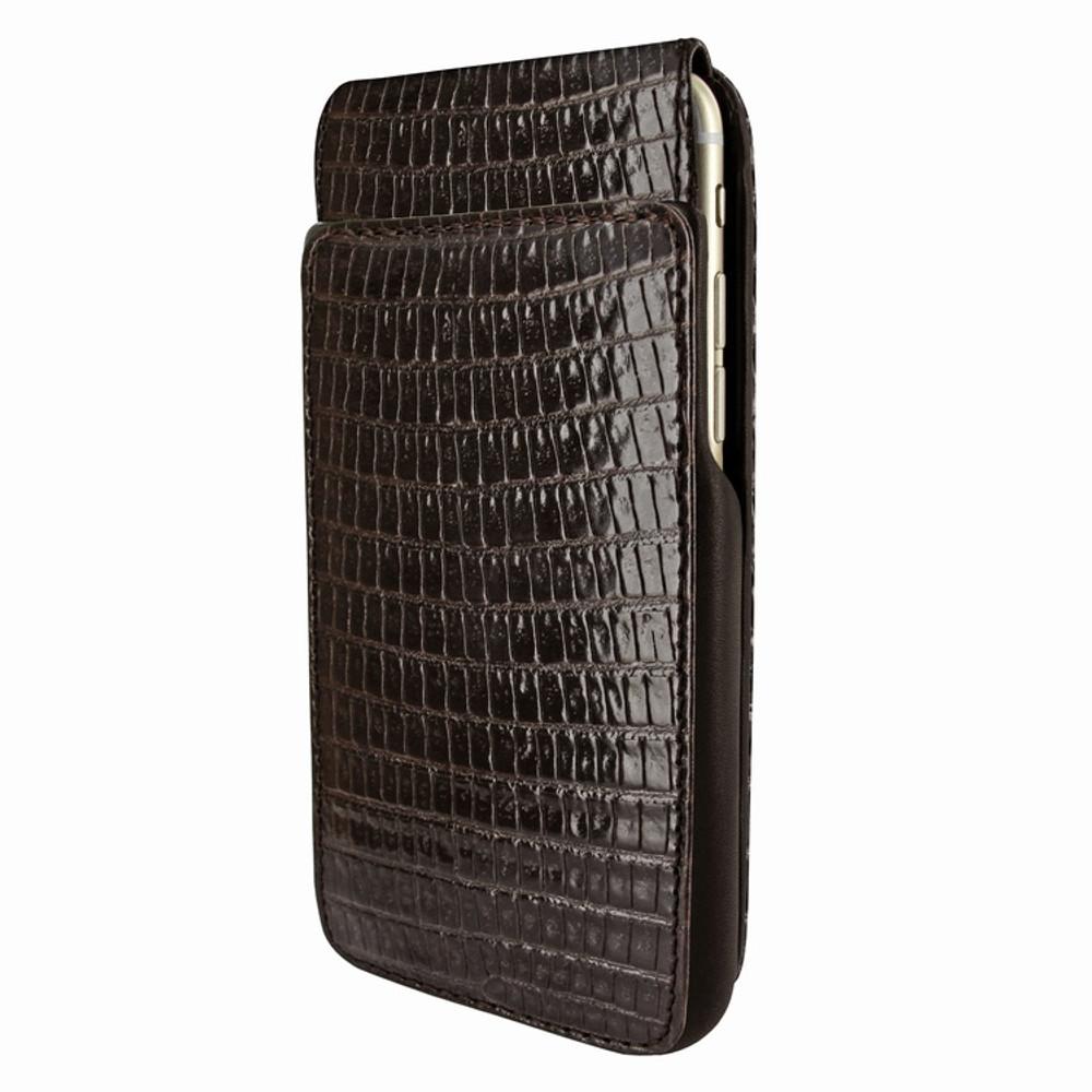 Piel Frama iPhone 6 Plus / 6S Plus / 7 Plus / 8 Plus UltraSliMagnum Leather Case - Brown Cowskin-Lizard