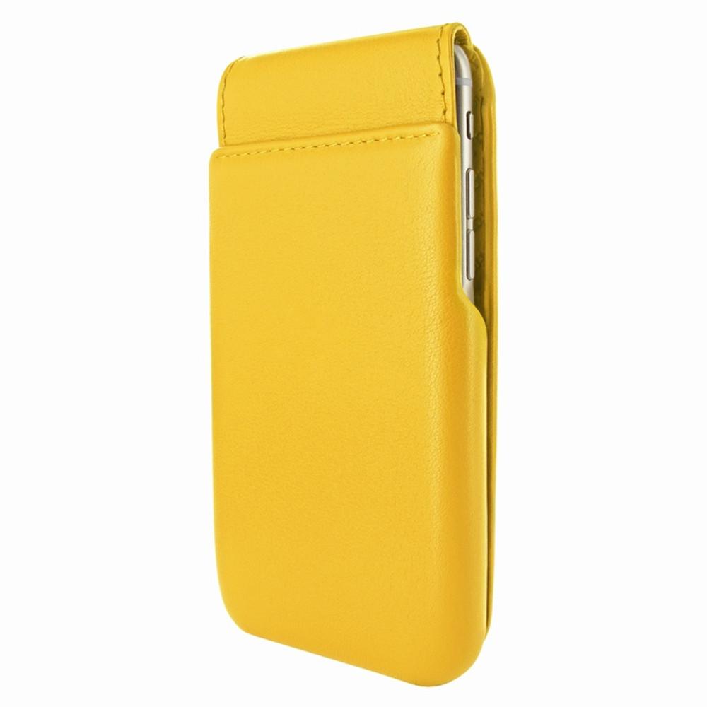 Piel Frama iPhone 6 Plus / 6S Plus / 7 Plus / 8 Plus UltraSliMagnum Leather Case - Yellow