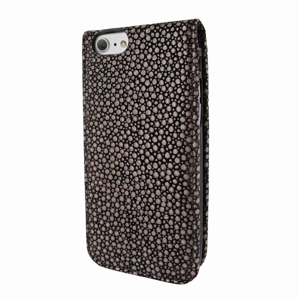 Piel Frama iPhone 7 / 8 Classic Magnetic Leather Case - Brown Cowskin-Stingray