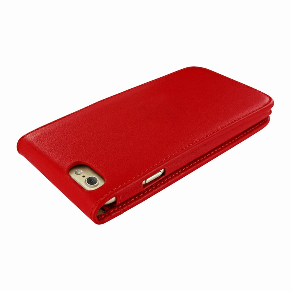 Piel Frama iPhone 7 / 8 Classic Magnetic Leather Case - Red