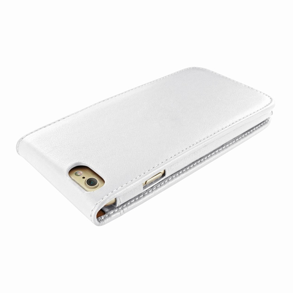 Piel Frama iPhone 7 / 8 Classic Magnetic Leather Case - White