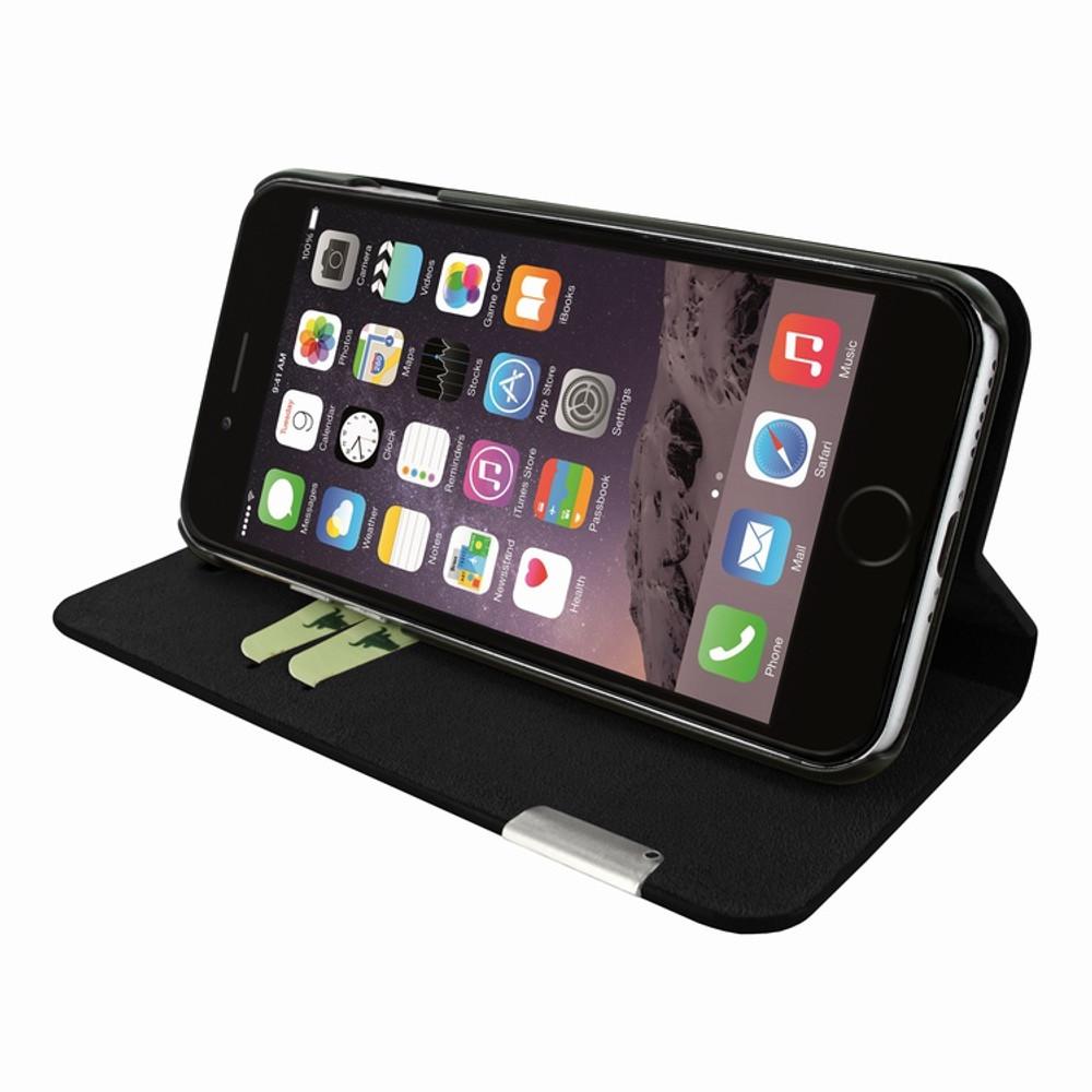 Piel Frama iPhone 7 / 8 FramaSlimCards Leather Case - Black iForte