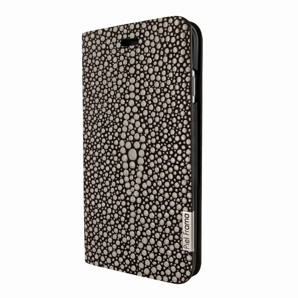 Piel Frama iPhone 7 / 8 FramaSlimCards Leather Case - Brown Cowskin-Stingray