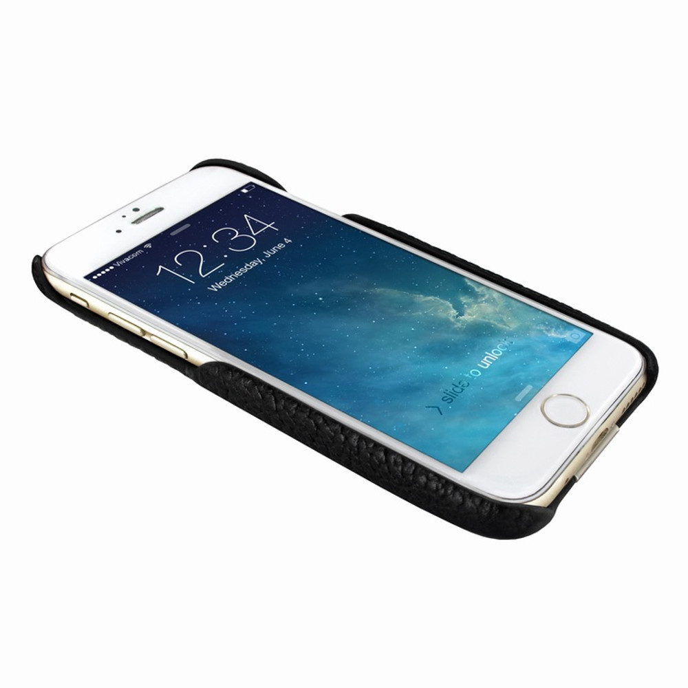 Piel Frama iPhone 7 / 8 FramaSlimGrip Leather Case - Black iForte