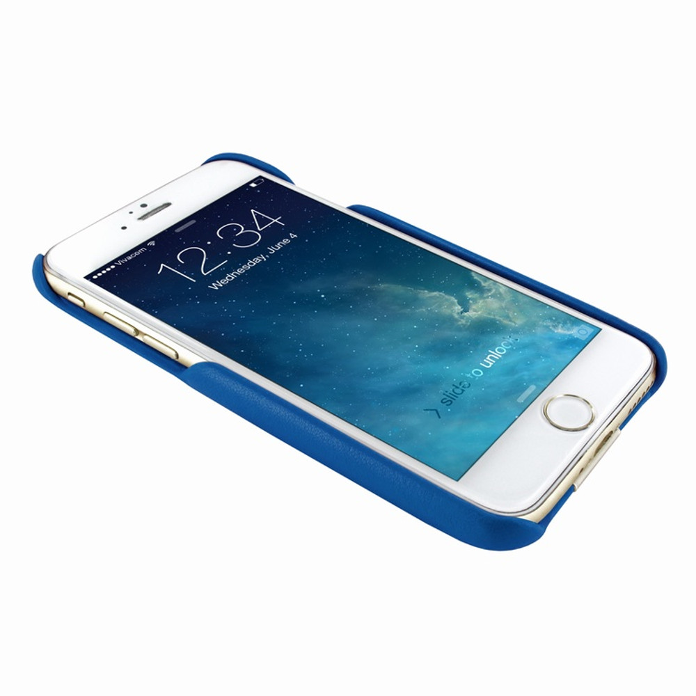 Piel Frama iPhone 7 / 8 FramaSlimGrip Leather Case - Blue