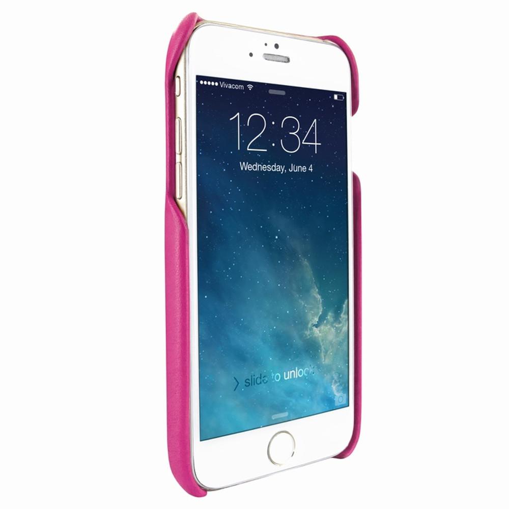 Piel Frama iPhone 7 / 8 FramaSlimGrip Leather Case - Fuchsia