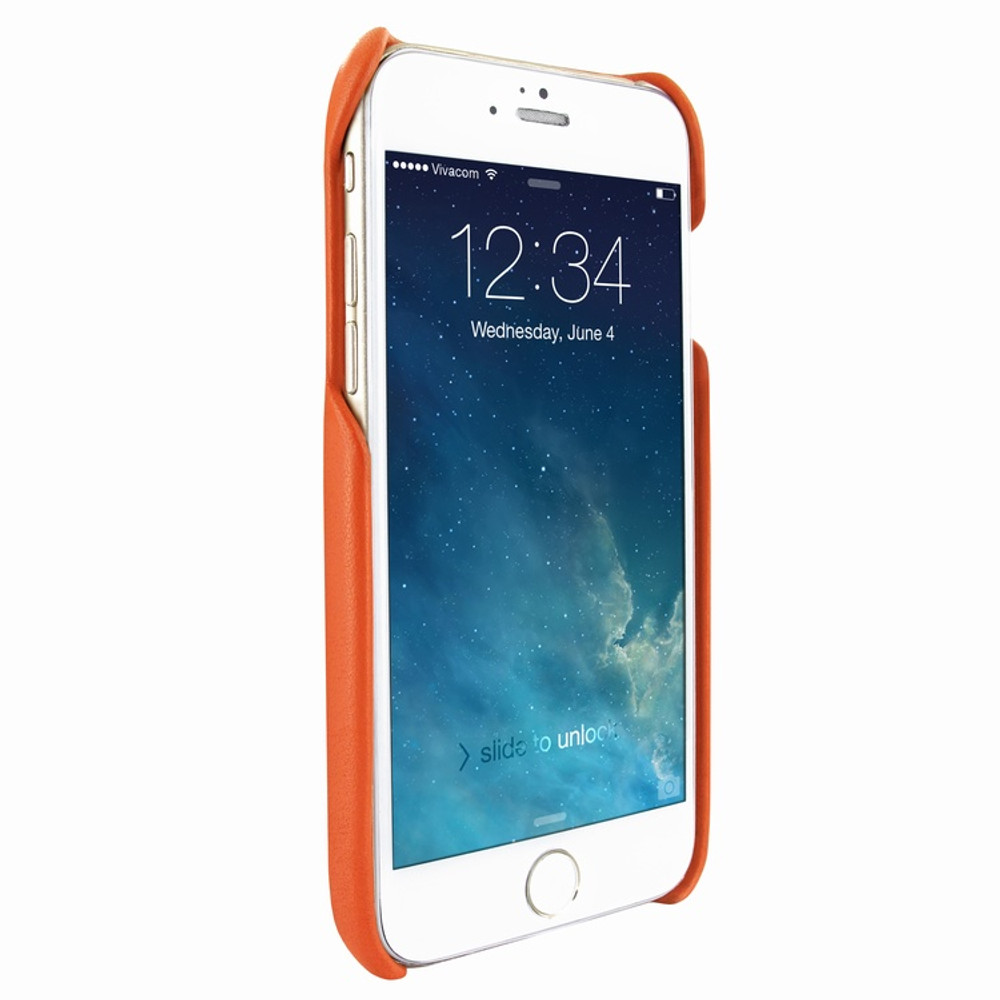 Piel Frama iPhone 7 / 8 FramaSlimGrip Leather Case - Orange