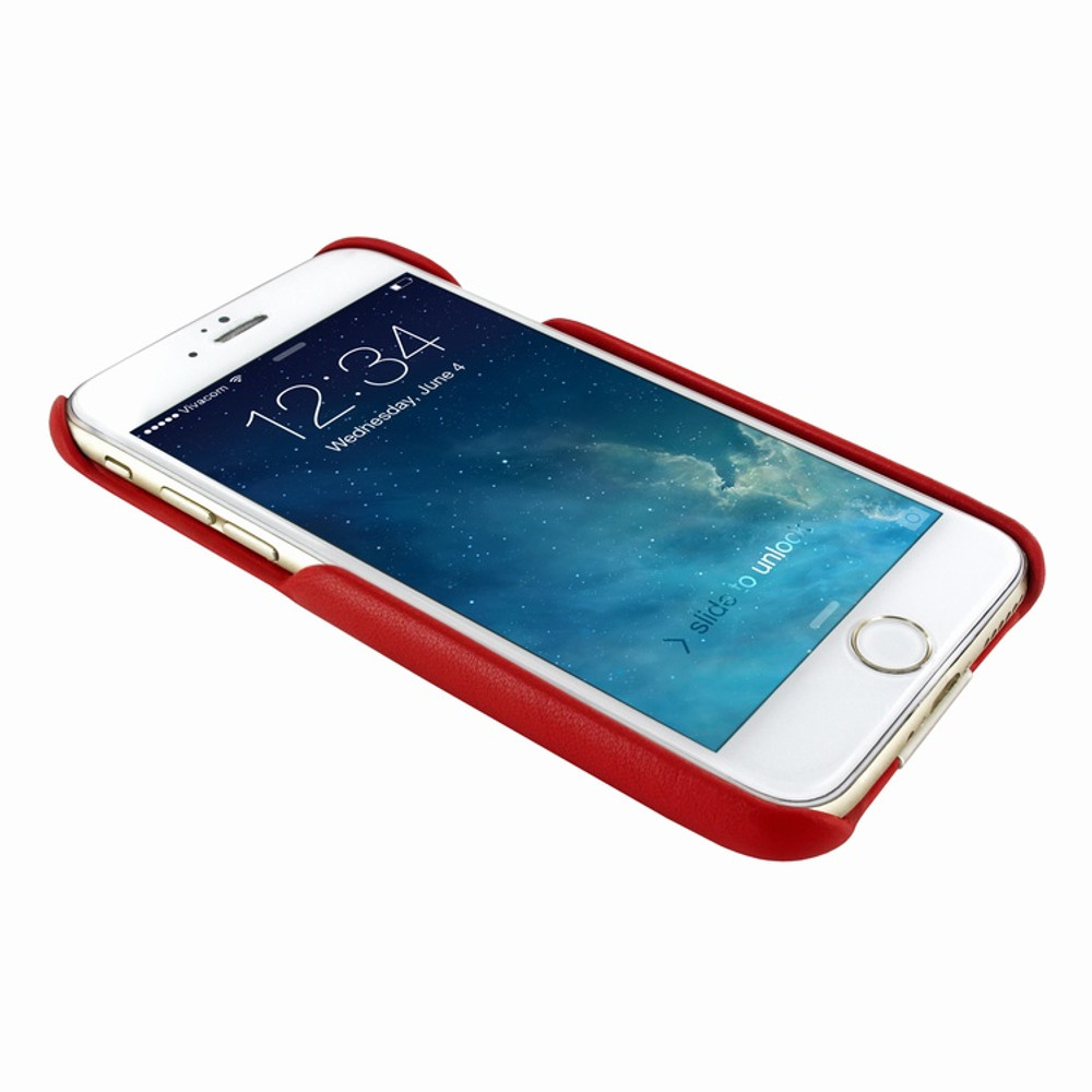 Piel Frama iPhone 7 / 8 FramaSlimGrip Leather Case - Red