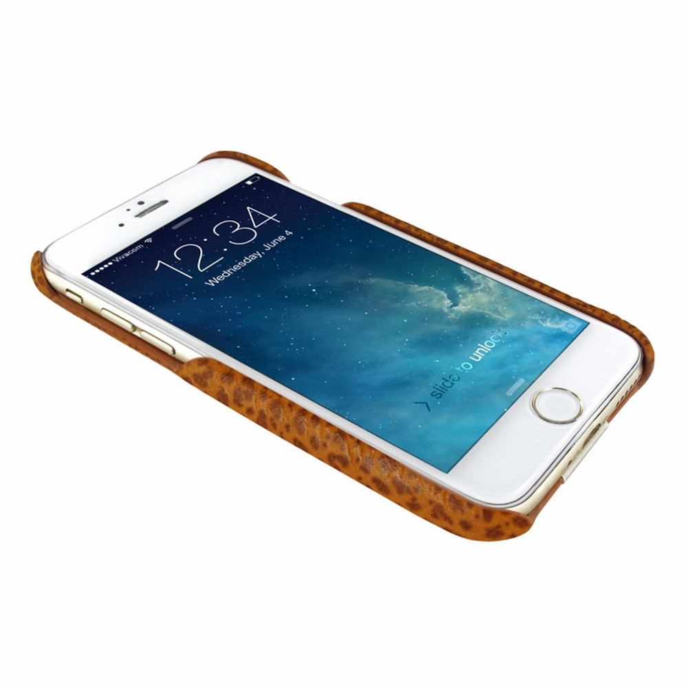 Piel Frama iPhone 7 / 8 FramaSlimGrip Leather Case - Tan iForte