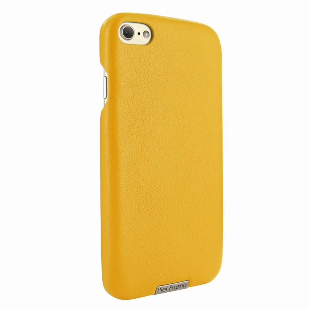 Piel Frama iPhone 7 / 8 FramaSlimGrip Leather Case - Yellow