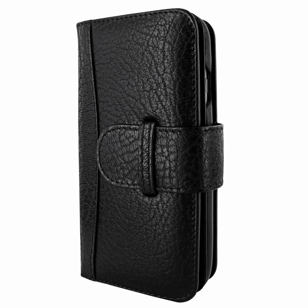 Piel Frama iPhone 7 / 8 WalletMagnum Leather Case - Black iForte