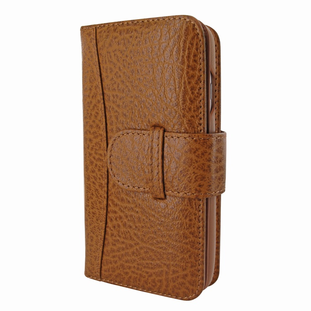 Piel Frama iPhone 7 / 8 WalletMagnum Leather Case - Tan iForte