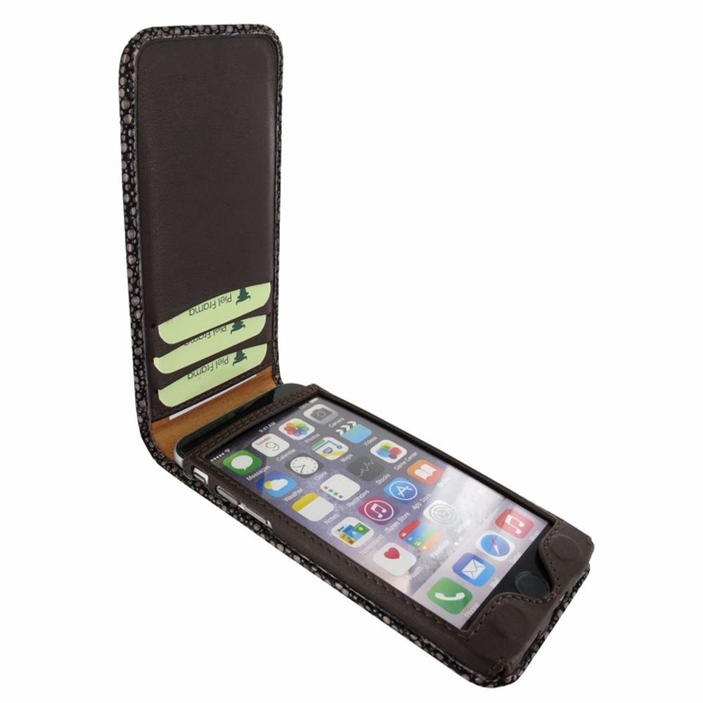 Piel Frama iPhone 7 Plus / 8 Plus Classic Magnetic Leather Case - Brown Cowskin-Stingray