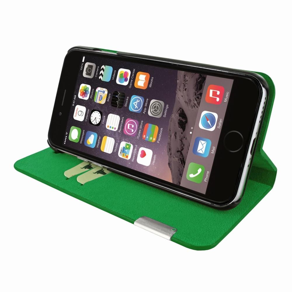 Piel Frama iPhone 7 Plus / 8 Plus FramaSlimCards Leather Case - Green
