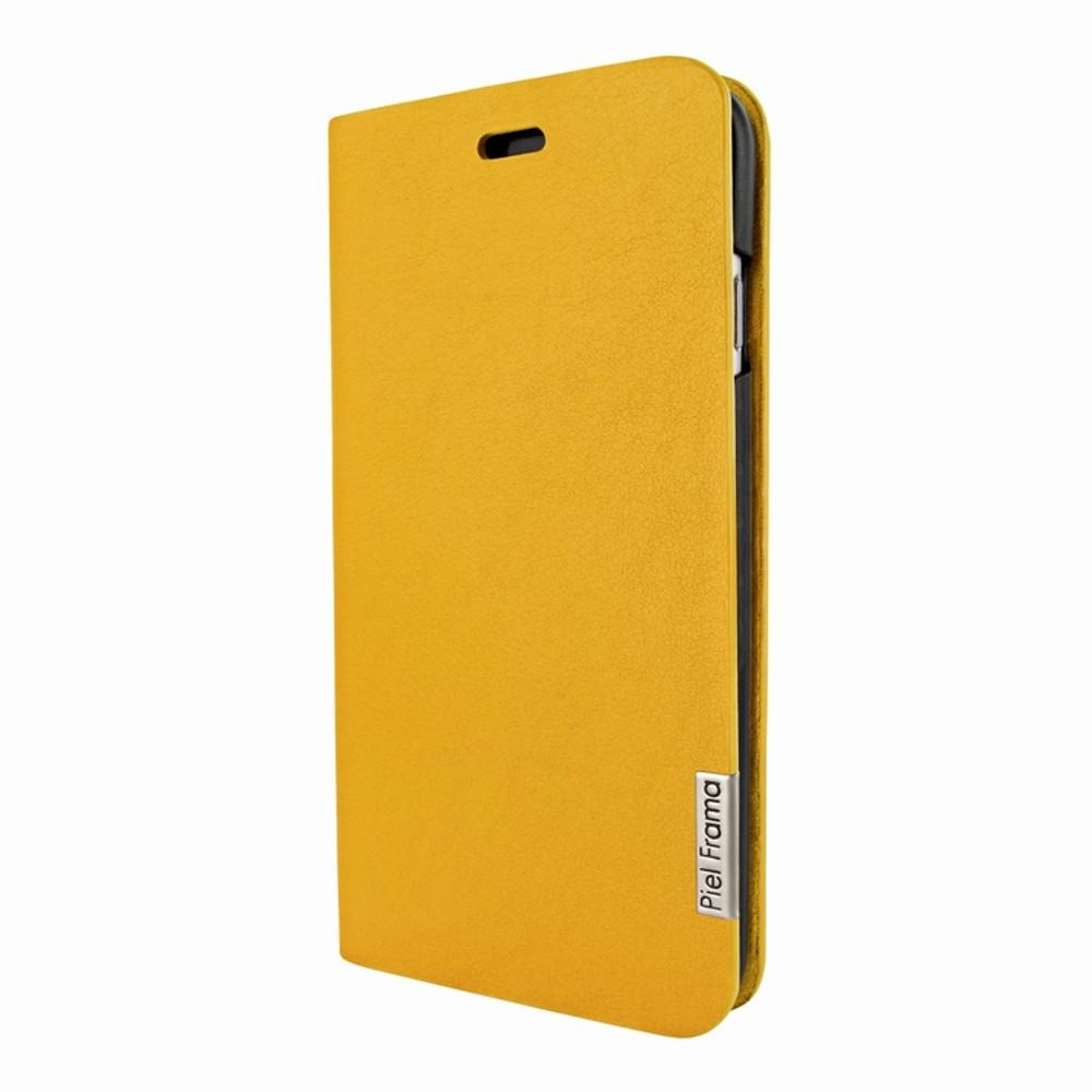 Piel Frama iPhone 7 Plus / 8 Plus FramaSlimCards Leather Case - Yellow
