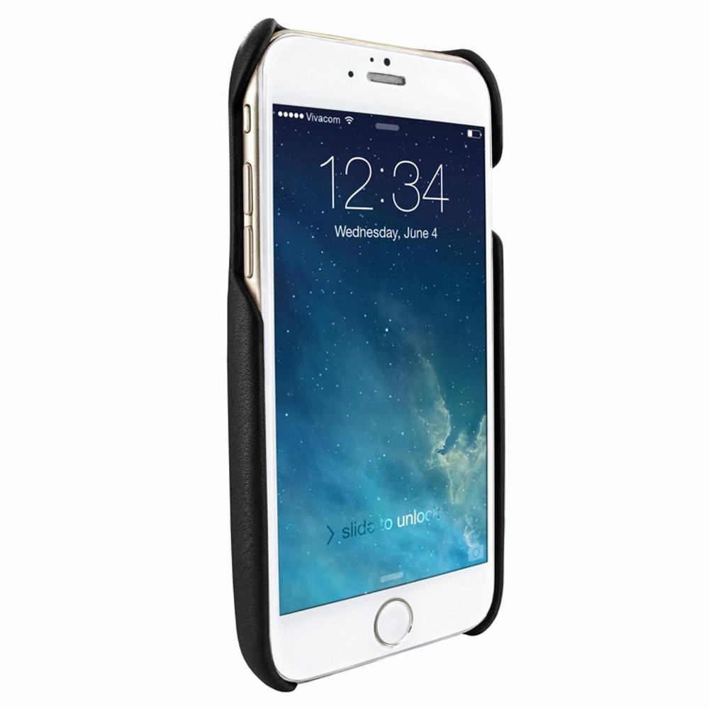 Piel Frama iPhone 7 Plus / 8 Plus FramaSlimGrip Leather Case - Black Cowskin-Ostrich