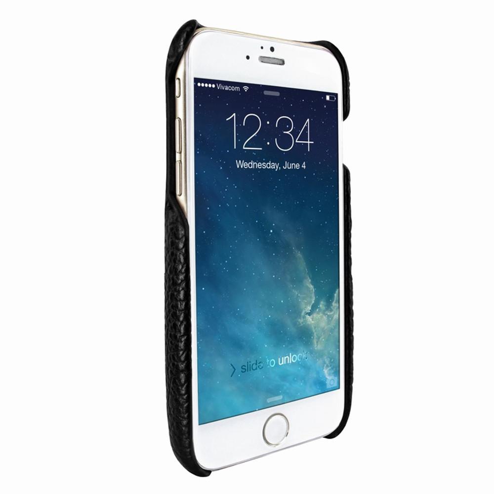 Piel Frama iPhone 7 Plus / 8 Plus FramaSlimGrip Leather Case - Black iForte