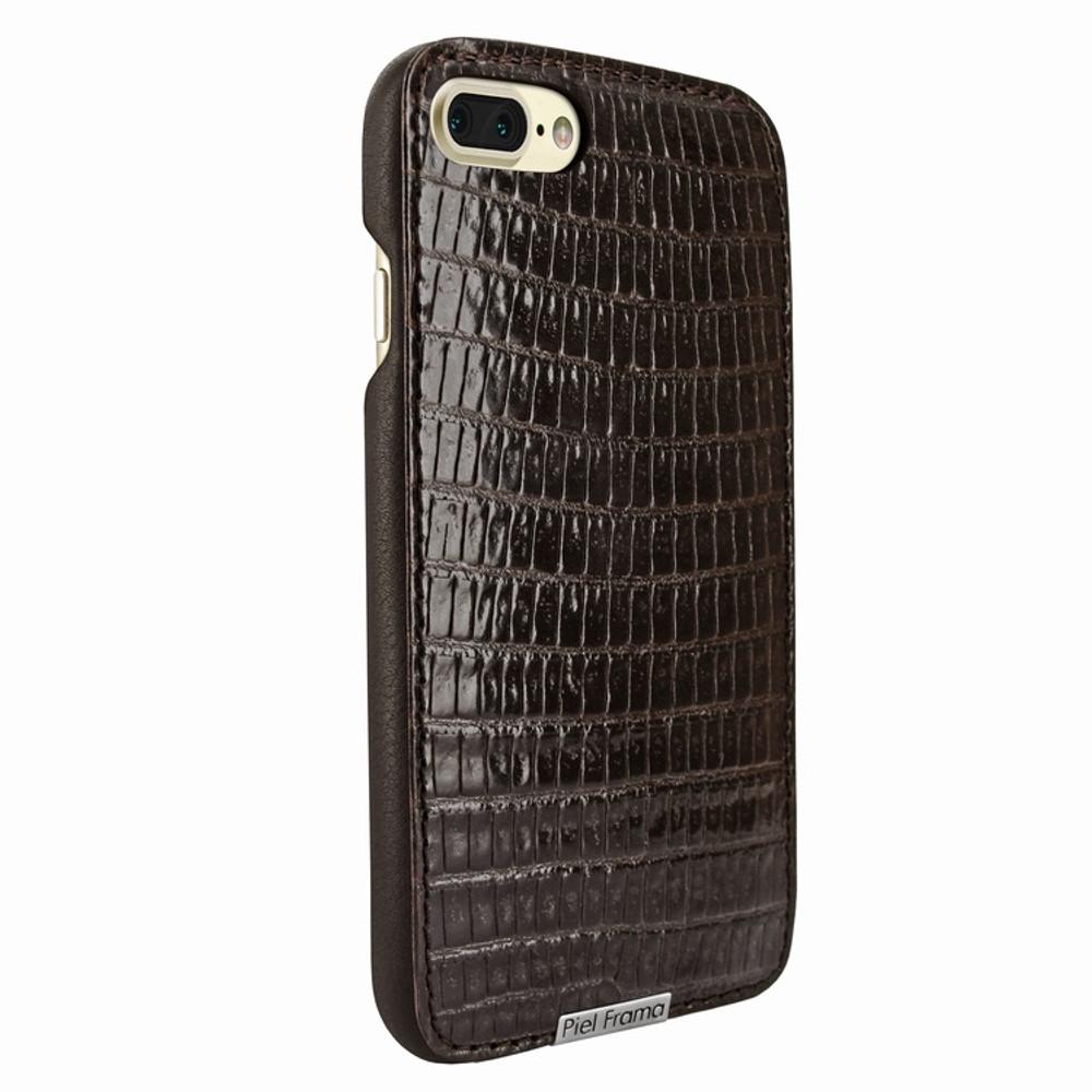 Piel Frama iPhone 7 Plus / 8 Plus FramaSlimGrip Leather Case - Brown Cowskin-Lizard