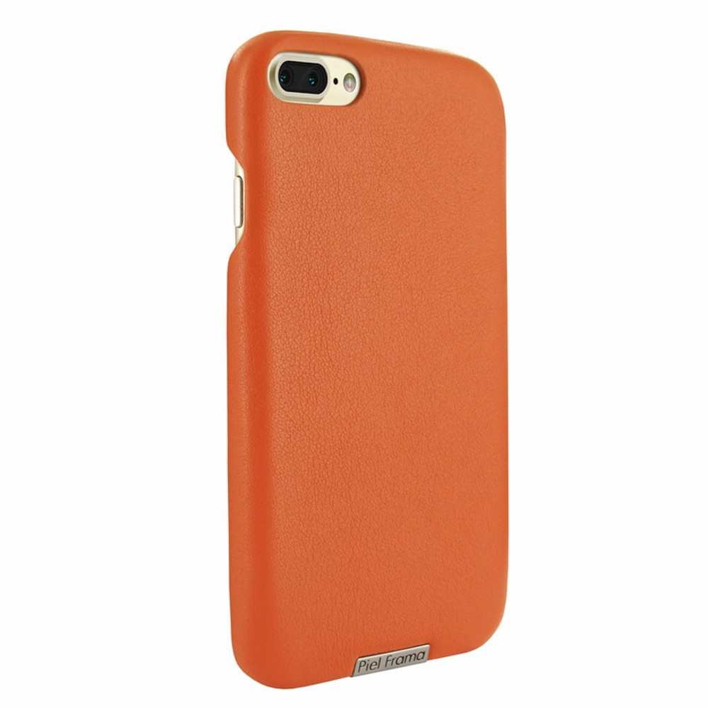 Piel Frama iPhone 7 Plus / 8 Plus FramaSlimGrip Leather Case - Orange