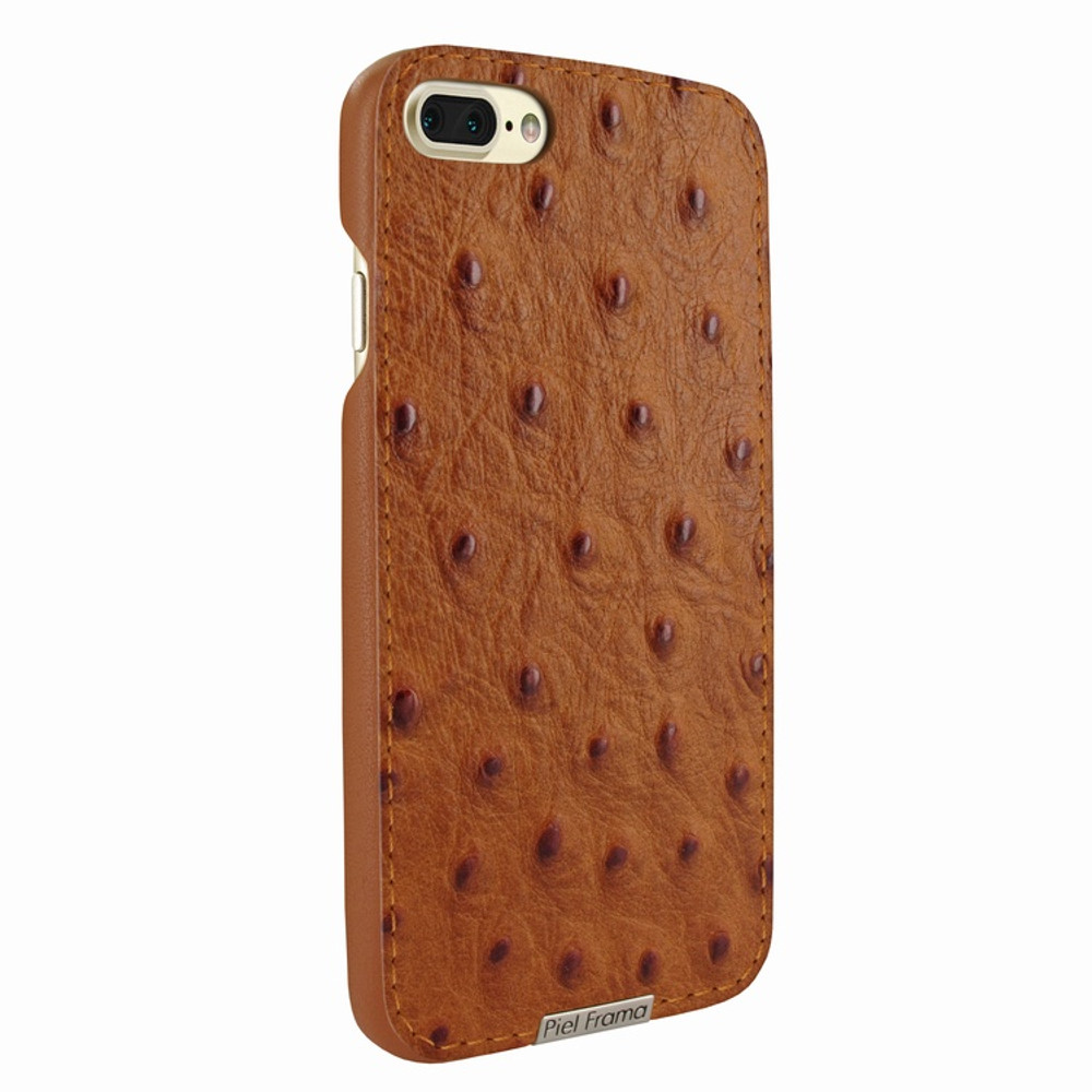 Piel Frama iPhone 7 Plus / 8 Plus FramaSlimGrip Leather Case - Tan Cowskin-Ostrich