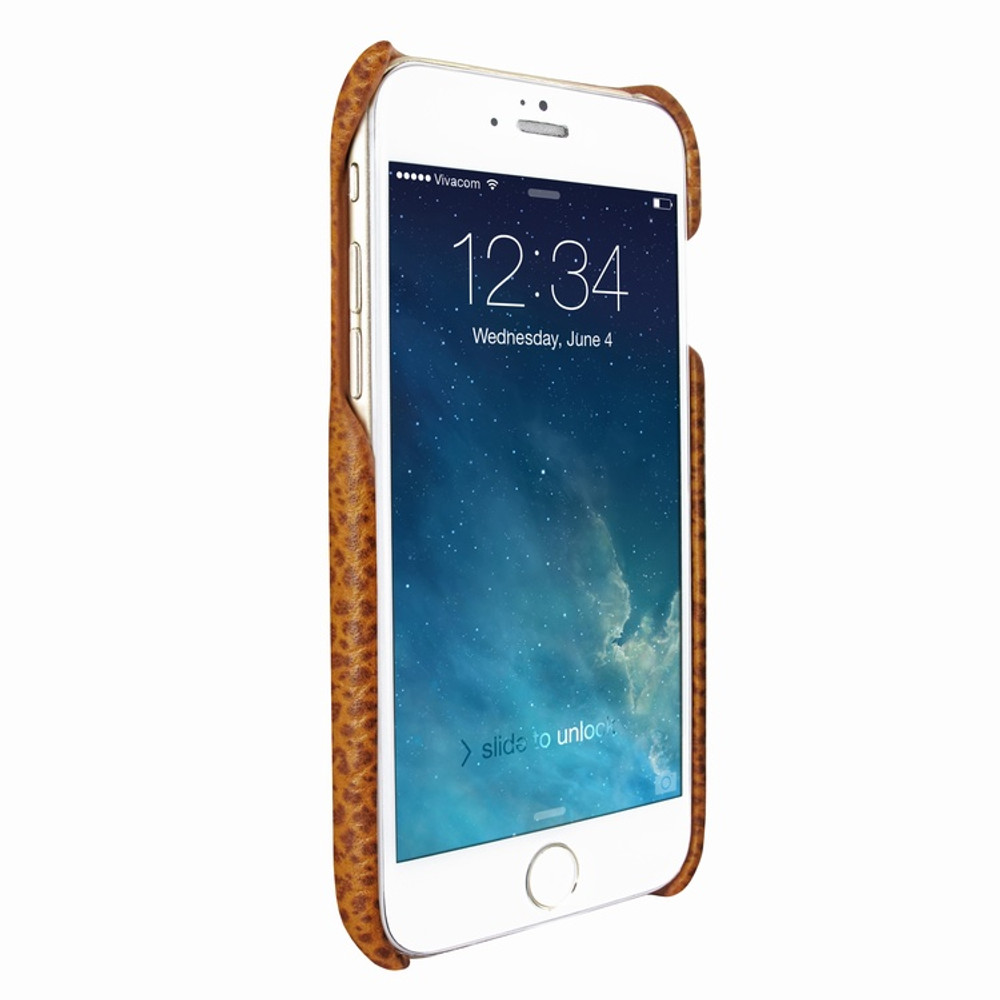 Piel Frama iPhone 7 Plus / 8 Plus FramaSlimGrip Leather Case - Tan iForte