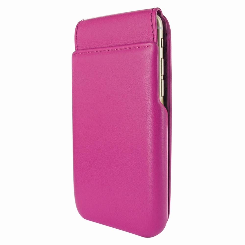 Piel Frama iPhone 7 Plus / 8 Plus iMagnumCards Leather Case - Fuchsia