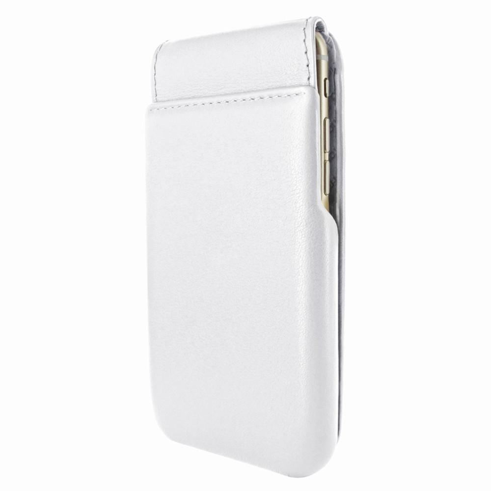 Piel Frama iPhone 7 Plus / 8 Plus iMagnumCards Leather Case - White