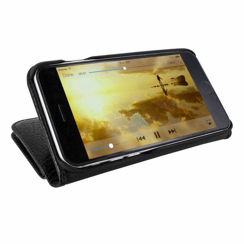 Piel Frama iPhone 7 Plus / 8 Plus WalletMagnum Leather Case - Black iForte
