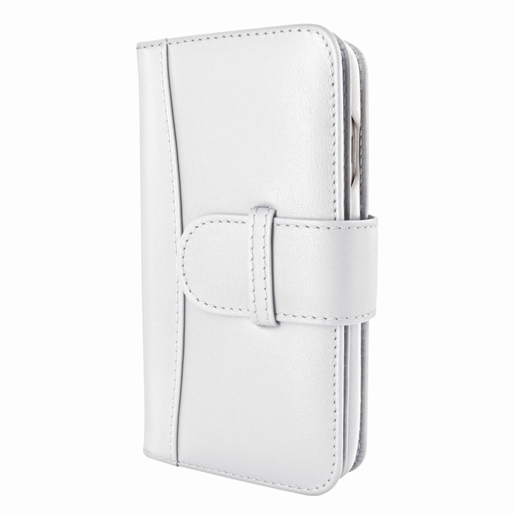 Piel Frama iPhone 7 Plus / 8 Plus WalletMagnum Leather Case - White