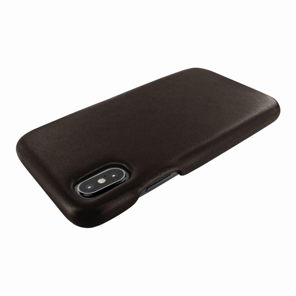 Piel Frama iPhone X / Xs FramaSlimGrip Leather Case - Brown