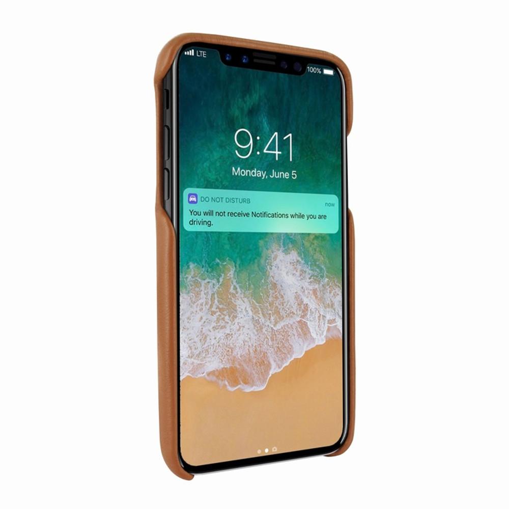 Piel Frama iPhone X / Xs FramaSlimGrip Leather Case - Tan