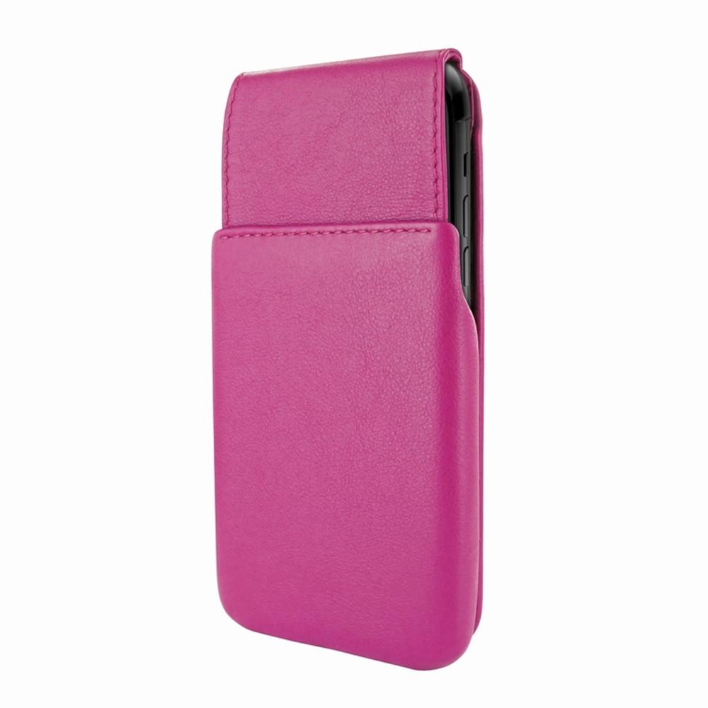 Piel Frama iPhone X / Xs iMagnum Leather Case - Fuchsia