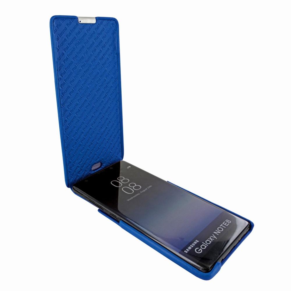 Piel Frama Samsung Galaxy Note 8 iMagnum Leather Case - Blue