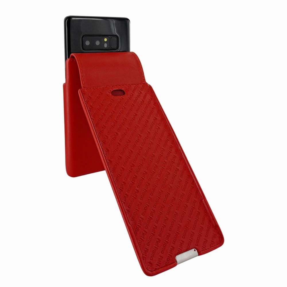 Piel Frama Samsung Galaxy Note 8 iMagnum Leather Case - Red